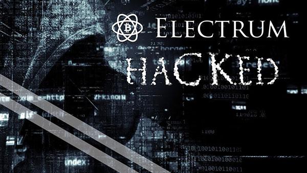 Electrum Hacked