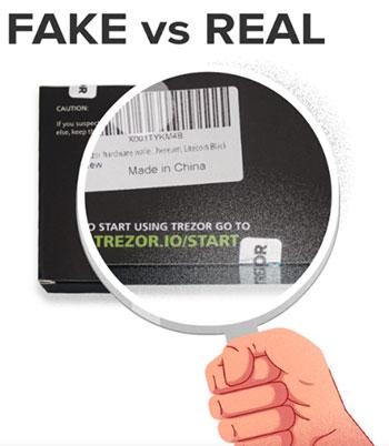 Fake Trezor