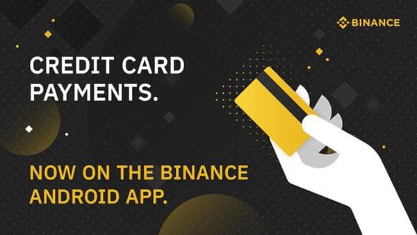 Binance Credit Card