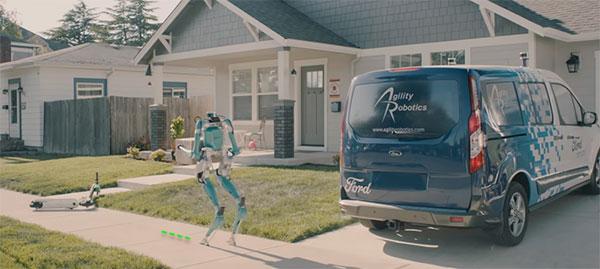 Agility Robotics Ford