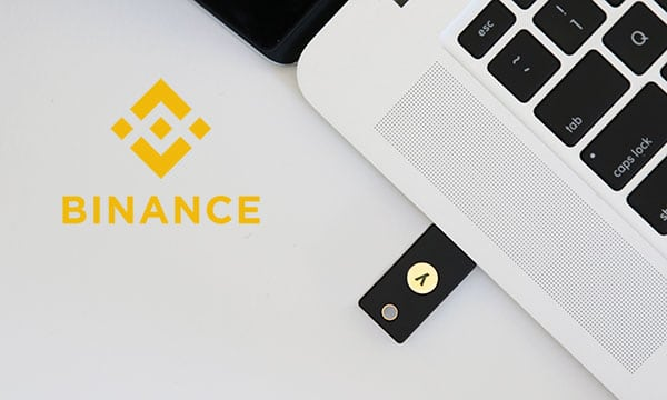 YubiKey Binance
