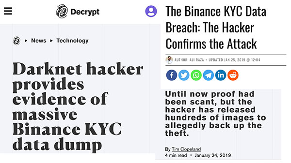 Binance Scam