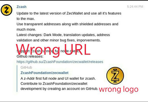 ZCash Scam