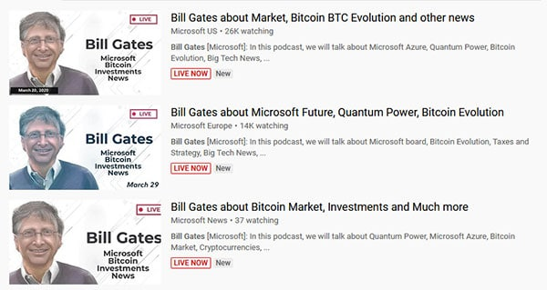 Bill Gates Fake