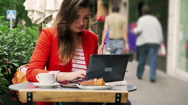 Girl Laptop