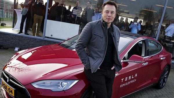 Mask Tesla